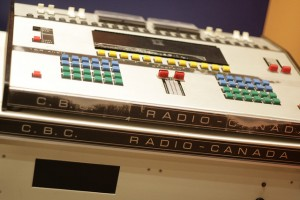 Photo of CBC Radio equipment